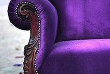 Déco violet / by Isabelle Riou