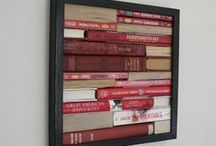 Book Art / Have some old books stacked up around the house? Use the ideas on this board to create something great out of them!