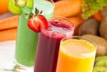Sucos, batidas e vitaminas