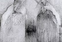 drawing / rysunek / Drawings black and white and in color Rysunki czarno białe i w kolorze