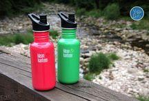 Lahve Klean Kanteen / My tyhle lahvičky milujeme. Jsou z bezpečné nerezové oceli a vydrží vám celé roky!