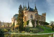 Castles, palaces, churches, old buildings, ruins / by Boyana Nagel