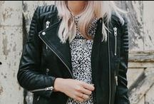 Iconic Piece: THE Leather Jacket.