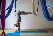 Hamaka na aero jógu / Domácí aero jóga, cvičení bez gravitace, inverzní terapie a zábava! :)
