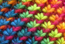 Tejido y lana