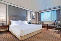 Guestrooms at Plaza Athénée Bangkok, A Royal Méridien Hotel / by PLAZA ATHENEE BANGKOK A ROYAL MERIDIEN
