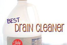 Cleaning / DIY Cleaning Recipes, Tips & Ideas