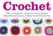 Crochet - Books / Książki o szydełkowaniu, zawierające wzory i diagramy.