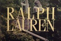 Ralph Lauren  Lifestylez / Fashion Apparel/Home / by *Kleanfacer Diaz*