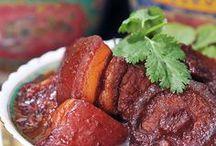 asian food recipes / by Linda Brueschweiler low