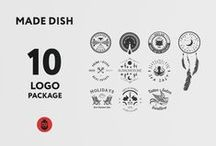Made Dish Logo Package / Try the sweet taste of design. Made dish from ten high quality logo's.  Add a zest to your projects!  If you have any questions, please do not hesitate to ask me. I am very happy to answer you. If you need some help, I'll be glad to help you.  Just buy this project.