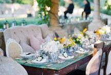 Outdoor Entertaining / Ideas for table decorating and settings for outdoor entertaining.