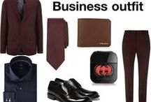 the office wardrobe (Outfit one) / His wardrobe have office looks for one week. (OUTFIT ONE)