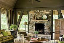Patio, porches & outdoor living. / Patio fireplaces, BBQ and entertaining areas outdoor