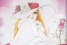 Riyoko Ikeda - 池田理代子 / Illustrations by Riyoko Ikeda Sama et photos d'Ikeda !