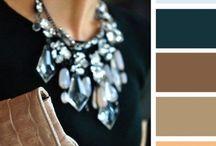 Pukeutumisen värit / Muotivärit, väriyhdistelmät