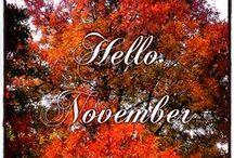 November / Inspiráció novemberre