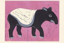 Collection of tapirs