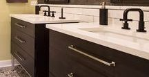 Swanky   Bath Remodel / Our recent work, a stylish hall bath remodel in Barrington, Illinois.