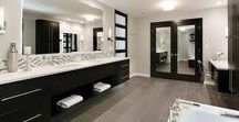 Clean Lines   Master Bath Remodel / Our recent work, a modern master bath remodel in Deerfield, Illinois.