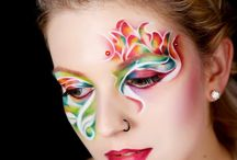 Creativ makeup / Aqua makeup and body painting