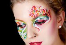 Creativ makeup / Aqua makeup and body painting
