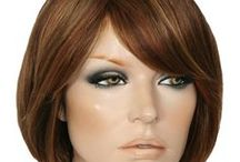 Human Hair Wigs / Wigs Online has many 100% Human hair wigs.  There is a vast range of different lengths, different colours, different cap construction and many grades of hair.