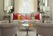 Inspirational interiors / Creating a glamorous home one pin at a time - inspiring ideas for putting together boutique hotel chic in your own house.