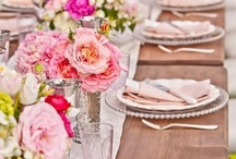 Beautiful table settings / The most beautiful table settings, whether they are opulent and filled with floral delights, or just simple ideas put together well - this is a collection to inspire.