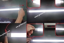 Electronic ballast Compatible led tube / Electronic ballast compatible led tube replace Philips fluorescent tube process video shared. More detailed info: www.griled.com