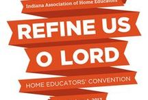 Homeschool Conventions / Tips for preparing for conventions. Recaps from bloggers who attended conventions. Let us help you prepare for a homeschool convention. / by IAHE Indiana Association of Home Educators