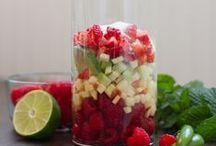 smoothies,slush, healthy and more yummie drinks...