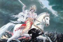 Lord Vishnu / The protector and lover of peace, lord Vishnu. Incarnates again and again to protect the Earth.