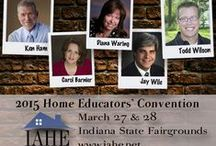 IAHE 2015 Convention / IAHE's convention is THE convention that supports your right to homeschool in the state of Indiana. Our presence in Indianapolis keeps a friendly face before our legislators and helps keep you up-to-date on all the important news. Attending IAHE's convention supports this very important mission.  2015 Indiana Home Educators' Convention Indiana State Fairgrounds 1202 East 38th Street Indianapolis, IN 46205-2869 MARSH BLUE RIBBON PAVILION & CHAMPIONS PAVILION / by IAHE Indiana Association of Home Educators