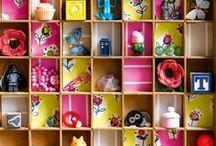 Rangement pour enfant / Idées de rangements faciles et compréhensibles pour les enfants. Ranger des jouets tout seul. Application méthode Montessori.