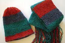 ManaKori / ManaKori Etsy shop with handmade knitted accessories