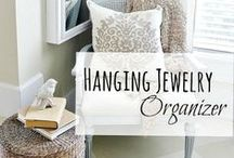 Jewelry Organizers + Care Tips / Keep your jewelry in order with a wide variety of DIY jewelry organizers or ones already made. Includes over the door, wall mounted, hanging and free-standing storage options. You'll also find several care tips for your jewelry!