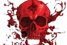 SKULLS by DESIGN / Sharing is GREAT - Raiding is NOT / by I.E. Clark