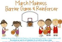 March Madness for Kids / March Madness treats, games and activities for kids