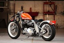 CHOPS & BOBBERS / A virtual collection of Choppers and Bobbers, Old School Style, for your inspiration.