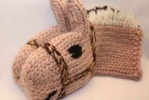 knitting / Neulominenj ja virkkaus