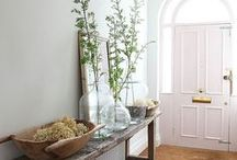 Doorspiration / Whether you live in a period townhouse, a country cottage or a modern, urban home, every property deserves a great entrance!  Which is why we've been gathering lots of lovely doorspiration, to help you make the most of your front of house area and create a beautiful welcoming focal point with your doorway.  If you are updating or renovating your house, the entry is a really good starting point, so why not check out all the lovely stylish doors and door ideas we have been busy pinning.