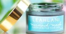 Mermaid Wishes / *The Mermaid Mask by Leahlani Skincare* Dive in to this emerald pot of Hawaiian goodness, and add ~mermaid magic~ to your skincare ritual. Made from the soil and nectar of Hawaii, this mask will purify, cleanse and soften your skin gently yet effectively - we liken it to a 'superfood green smoothie for the skin'. The Mermaid Mask is a nutrient dense superfood face mask designed to feed your skin the nourishment that it needs to reveal a radiant and vibrant complexion.