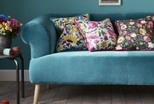 January Blues / Beat the January Blues with some seriously stylish interior inspiration. Enjoy every hue of blue, from baby to teal, and see how you can adopt the gorgeous colour into your home in 2017.