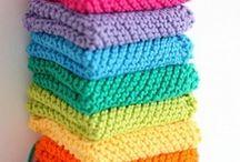 Knitting - Dish Cloths