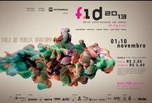 Cliente: FID (Fórum Internacional de Dança) / Trabalhos para as edições do FID