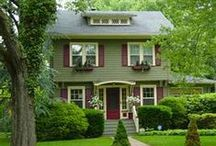 Exquisite Exteriors / Homes that inspire from past to present / by Lori-Anne Henry