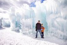 Silverthorne Ice Castle / Beautiful pictures of the Ice Castle in Silverthorne, CO. / by Ice Castles