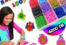 Gyerek játékok / Plüss állatok, távirányítós játékok, karkötő készítő készletek és sok más...