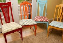 Dining Chair Makeovers